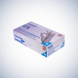 Перчатки нитриловые без пудры Ampri STYLE COLOR BERRY 01184-XL