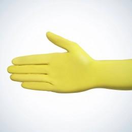 Перчатки нитриловые без пудры Ampri STYLE COLOR LEMON 01189-XL