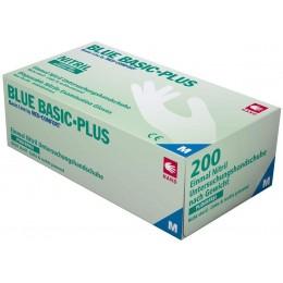 Перчатки нитриловые без пудры Ampri BLUE BASIC PLUS 01197-XL