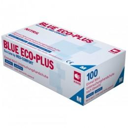 Перчатки нитриловые без пудры Ampri BLUE ECO PLUS 01198-M