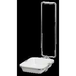 Настенный дозатор для мыла с короткой ручкой, 500 мл 09993-KH