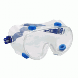 Очки защитные поликарбонатные с ремешком Ampri 8101
