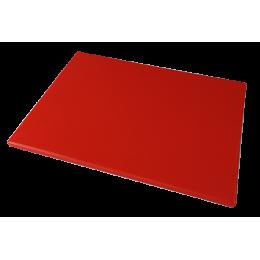 Доска полиэтиленовая разделочная Euroceppi 600х400х10 мм красная