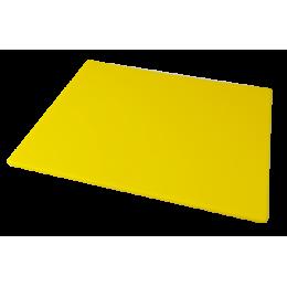 Доска полиэтиленовая разделочная Euroceppi 600х400х10 мм желтая
