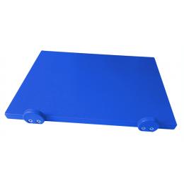 Доска разделочная Euroceppi с ограничителями 400х300х20 мм синяя