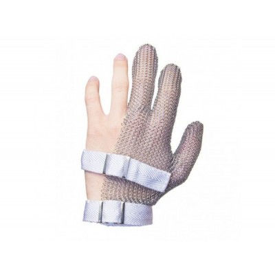 Кольчужная 3-палая перчатка Niroflex FM  размер S