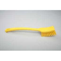 Щетка с длинной рукояткой FBK 10215 410х45 мм желтая