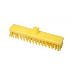 Щетка-скраб FBK 15001 280х50 мм желтая