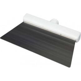Скребок из нержавеющей стали FBK 48281 280х110 мм белый