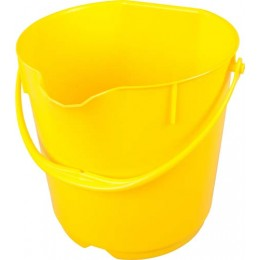 Ведро пищевое FBK 80101 желтое 15л