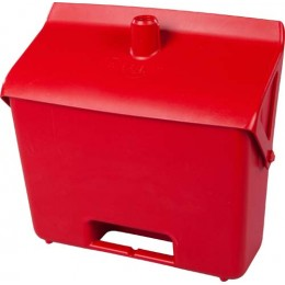 Совок FBK 80201 330х310 мм красный