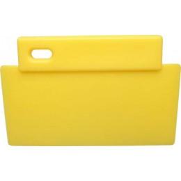 Шпатель FBK 81900 200х125 мм желтый