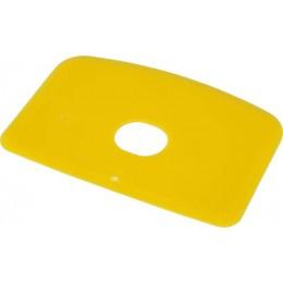 Скребок для теста с отверстием FBK 81910 желтый